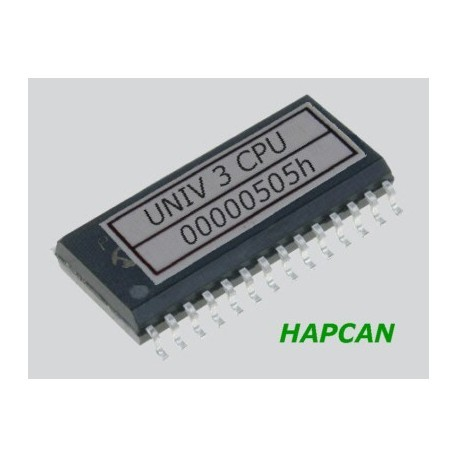 UNIV 3 CPU - processor (with HAPCAN CAN & UART bootloader)
